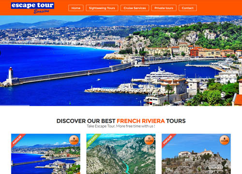 escape-tour-evasion.com : french riviera tours